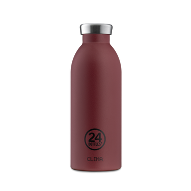 24 Bottles Clima Bottle 500ml | Stone Country Red