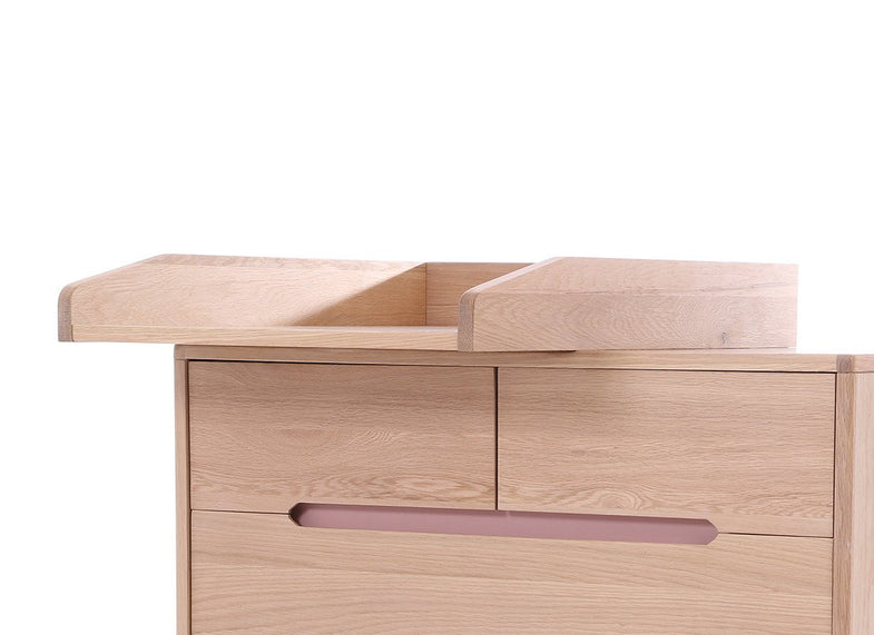 Nobodinoz Changing table voor commode - Pure | enkel ophaling in ons magazijn