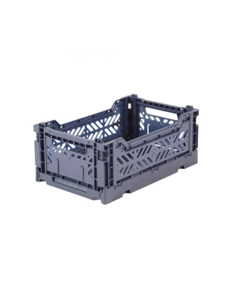 Eef Lillemor Folding Crate Mini | Cobalt Blue