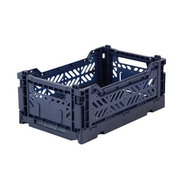 Eef Lillemor Folding Crate Mini | Navy