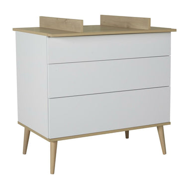 Quax Flow Extensie Commode I White & Oak