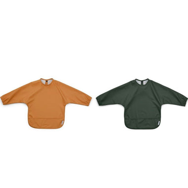 Liewood Merle Cape Slab Met Mouwen 2pack | Mustard/Hunter Green