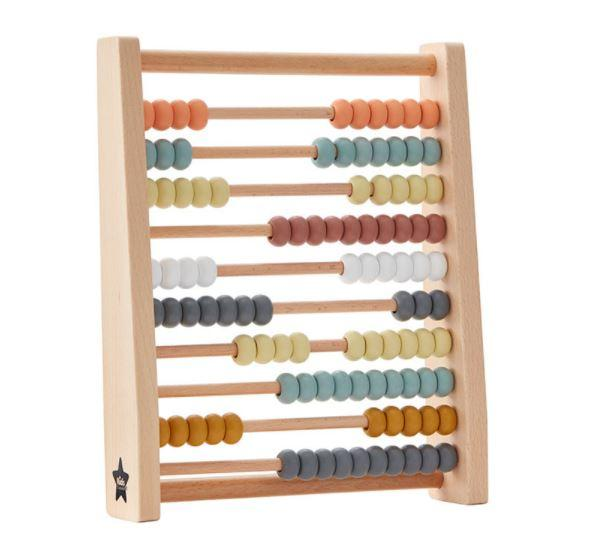 Kid's Concept houten telraam multi color
