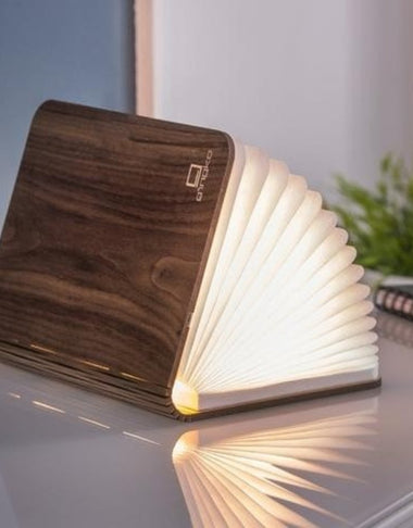 Gingko Smart Book Light Large | Walnut