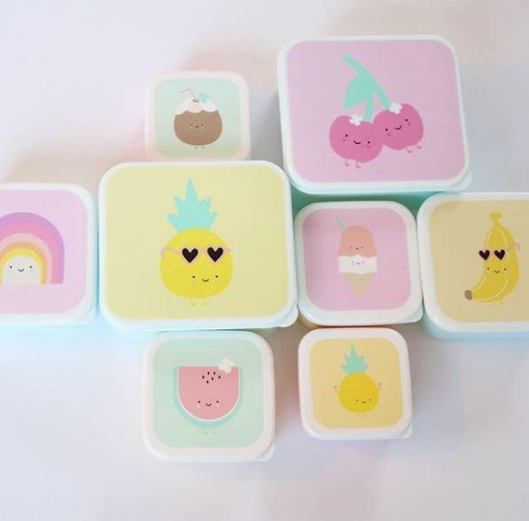 Eef Lillemor Set 3 snackdoosjes | Sweeties