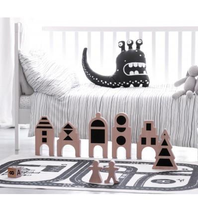 Ooh noo Little Village - Figurines - DE GELE FLAMINGO - Kids concept store