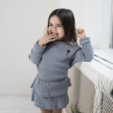Little Indians Rib Sweater | Balloon