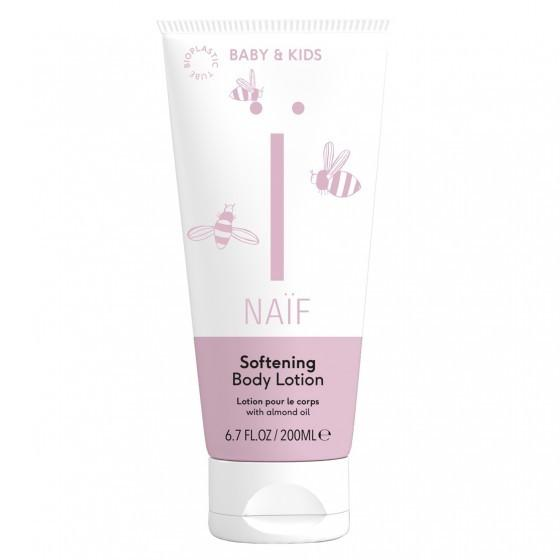 Naïf zachte baby body lotion 200ml