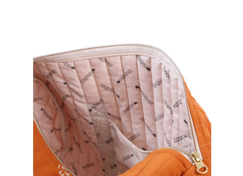 Nobodinoz New york weekendtas White bubble/Misty Pink - DE GELE FLAMINGO - Kids concept store