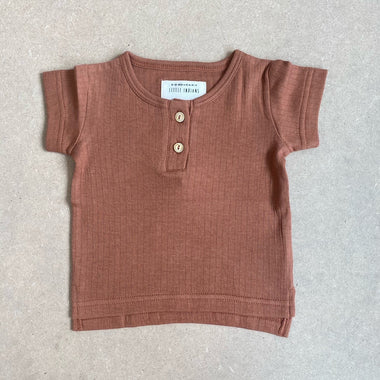 Little Indians Muslin T-shirt | Amber Brown