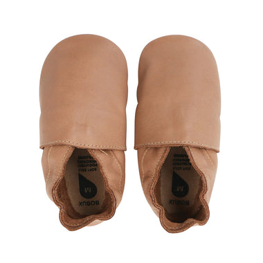 Bobux Soft Soles Simple Shoe | Caramel