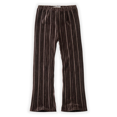 Sproet & Sprout Velvet Pants | Pleats