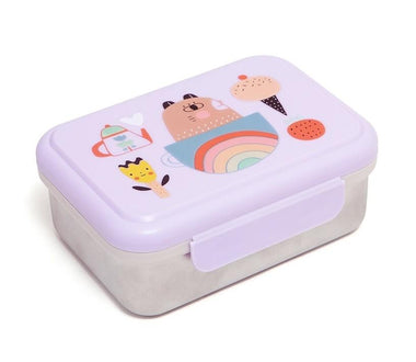 Petit Monkey lunchbox Stainless Steel | Apple Of My Eye
