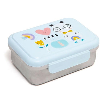 Petit Monkey lunchbox Stainless Steel | Panda Love