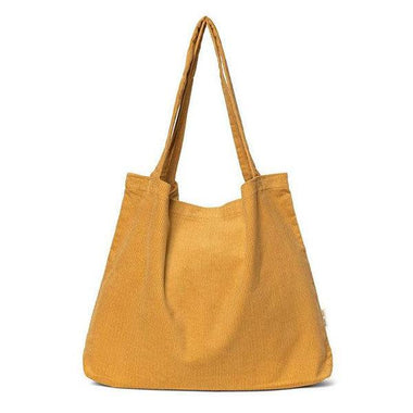 Studio Noos Mom Bag | Mustard Rib