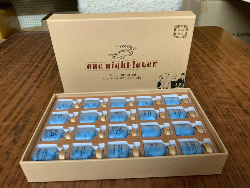 One Night Lover Male Enhancement Sex Pills for Maximum Erectile 1 Box = 10 Pills - RealDealPacks