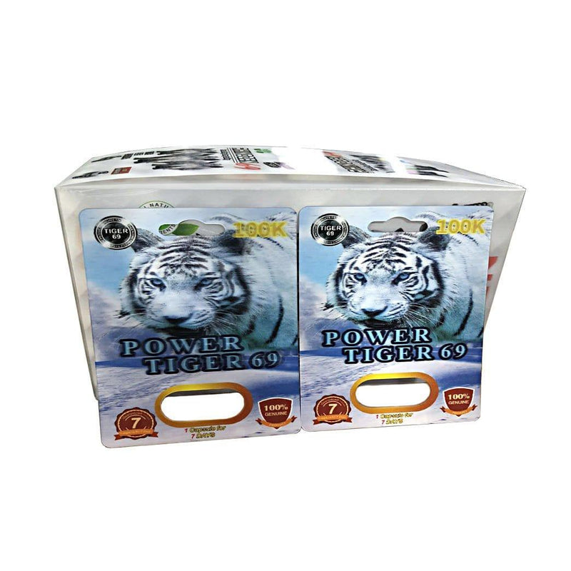 Power Tiger 69 Male Sexual Enhancement Pills For Premature Ejaculation Short Penis No Side Effect - RealDealPacks