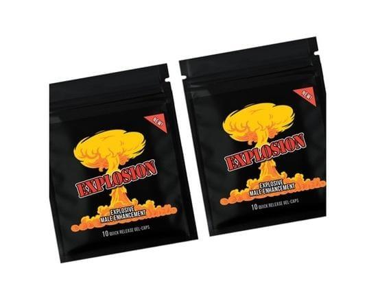 EXPLOSION XXXPlosion Male Enhancement Sex Pills GEL CAPS 10-200 Pills - RealDealPacks