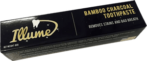 Organic Bamboo Charcoal Toothpaste / Natural Teeth Whitening Remove Stains & Bad Breath Plaque