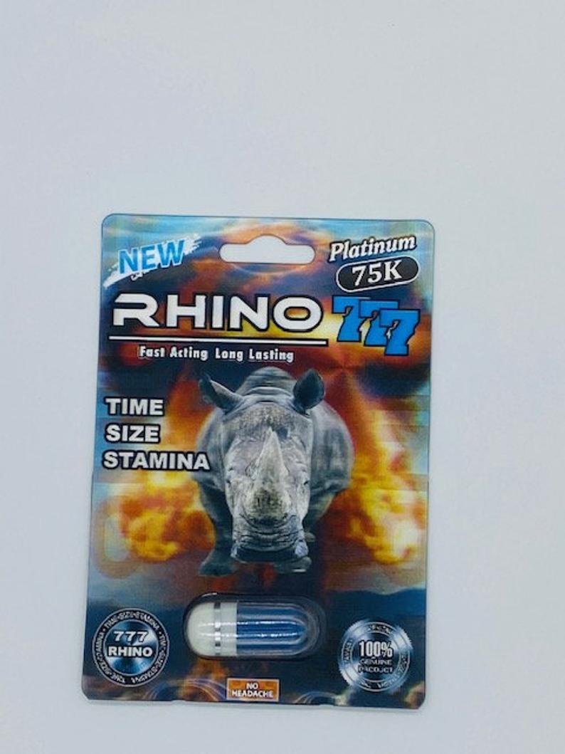 White RHINO 69 9000 EXTREME MALE SEXUAL ENHANCEMENT Single Pill - 20 Packs Per Box - RealDealPacks