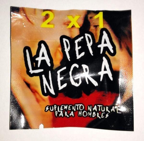 La Pepa De Negra / La Pepa Negra Sex Pills Last Longer 10-500 Tablets - RealDealPacks