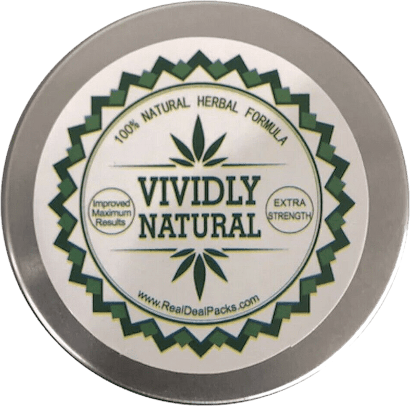 Vivid Natural Penis Enlarger Growth Cream Permanent Results Vividly Natural 2 oz XXXL 8+ Inches - RealDealPacks