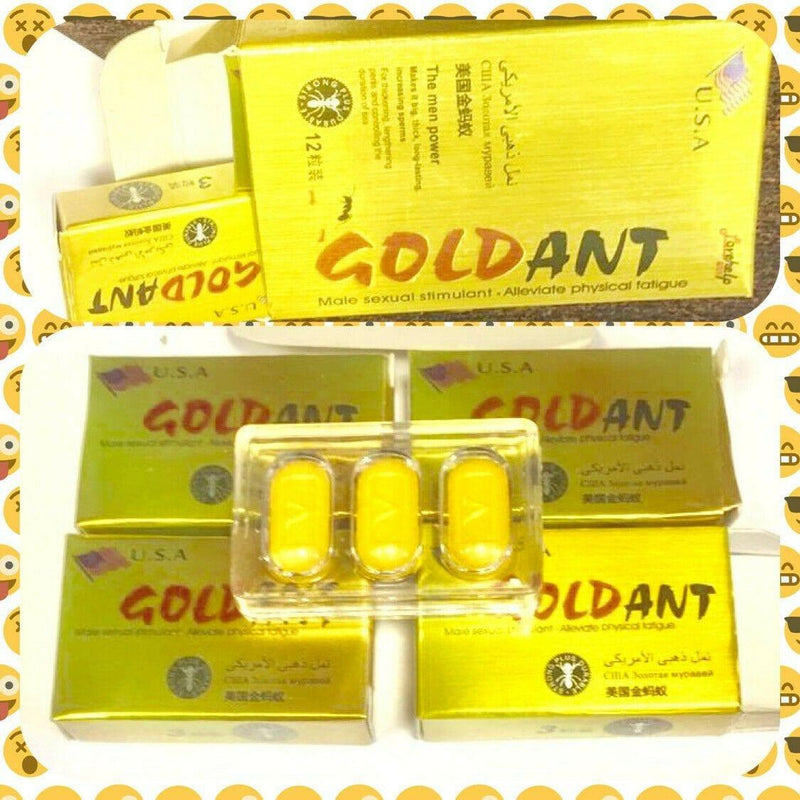 gold ant male sexual stimulant the men power sex pills for male enhancement - RealDealPacks