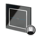 Crystal CT Touch & Remote Light Switch 1 Gang