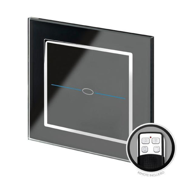Crystal CT LED Dimmer Touch Switch 1 Gang