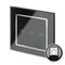 Crystal CT Touch & Remote Light Switch 3 Gang