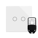 Crystal PG Touch & Remote Light Switch 2 Gang