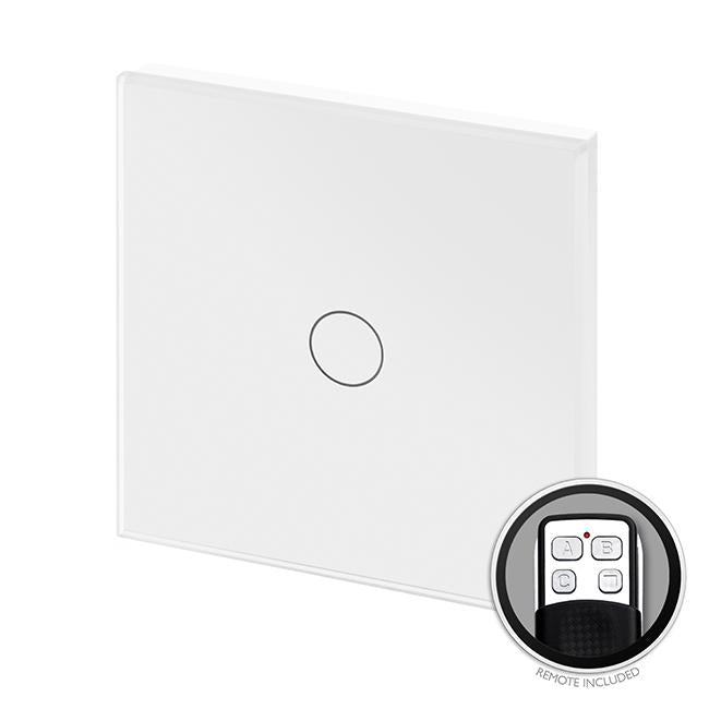 Crystal PG LED Dimmer Touch & Remote Switch 1 Gang