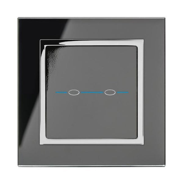 Crystal CT 2 Gang Touch Light Switch