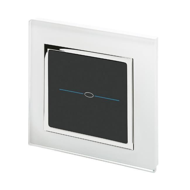 Crystal CT 1 Gang Touch Light Switch
