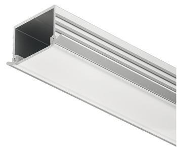 Recessed LED Aluminium Profile, Length 2.5m, Depth 11mm