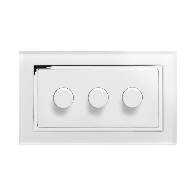 Crystal CT 3G Rotary LED Dimmer Switch 2 Way