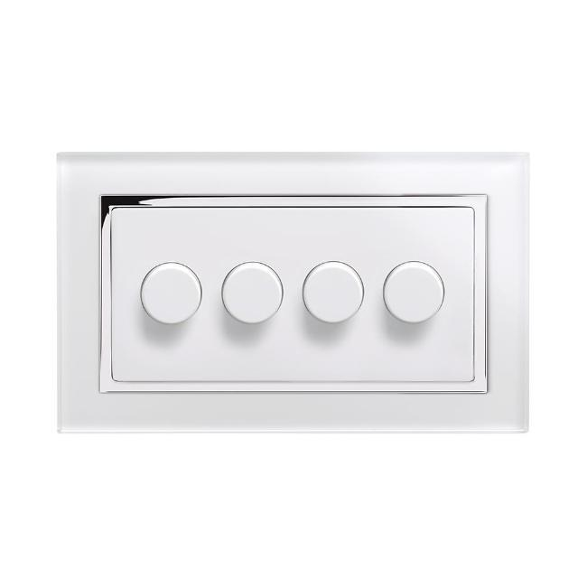Crystal CT 4G Rotary LED Dimmer Switch 2 Way