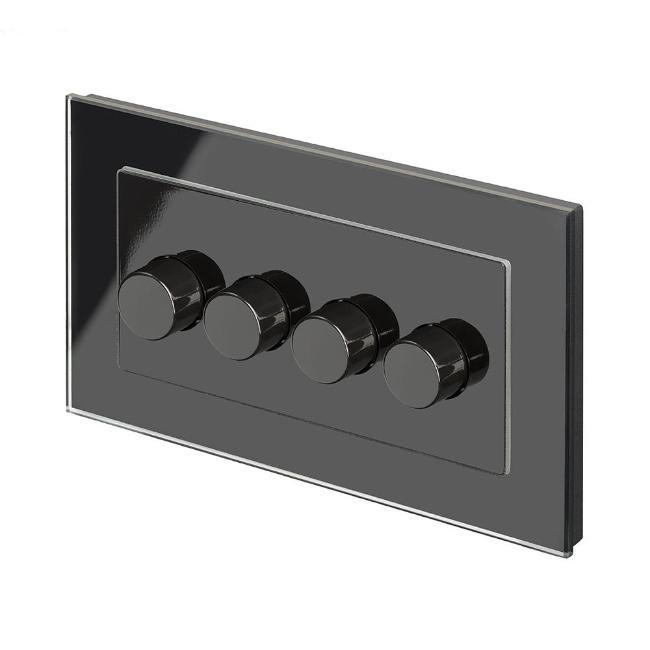 Crystal PG 4G Rotary LED Dimmer Switch 2 Way