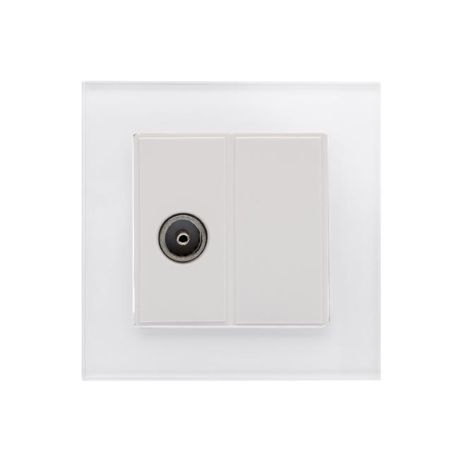 Crystal CT TV Socket