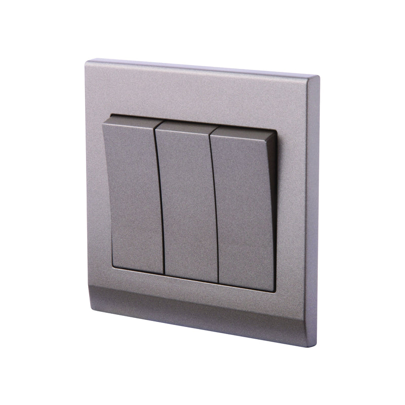 Simplicity Mechanical Light Switch 3 Gang