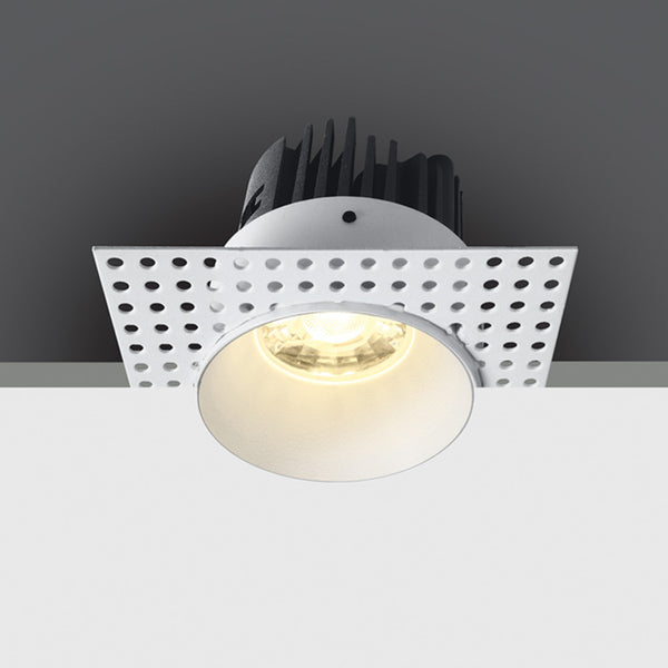 WHITE COB LED 7W WW 700mA 38deg IP54 TRIMLESS