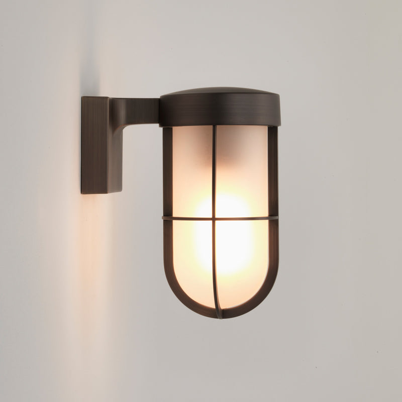 Astro - Cabin Wall Frosted - Wall Light