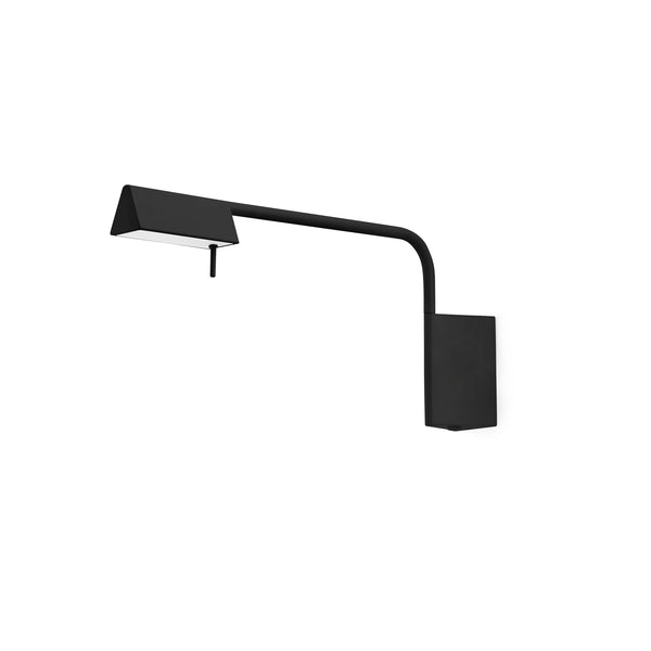 Academy Black Wall Lamp 6W 3000K Dimmable