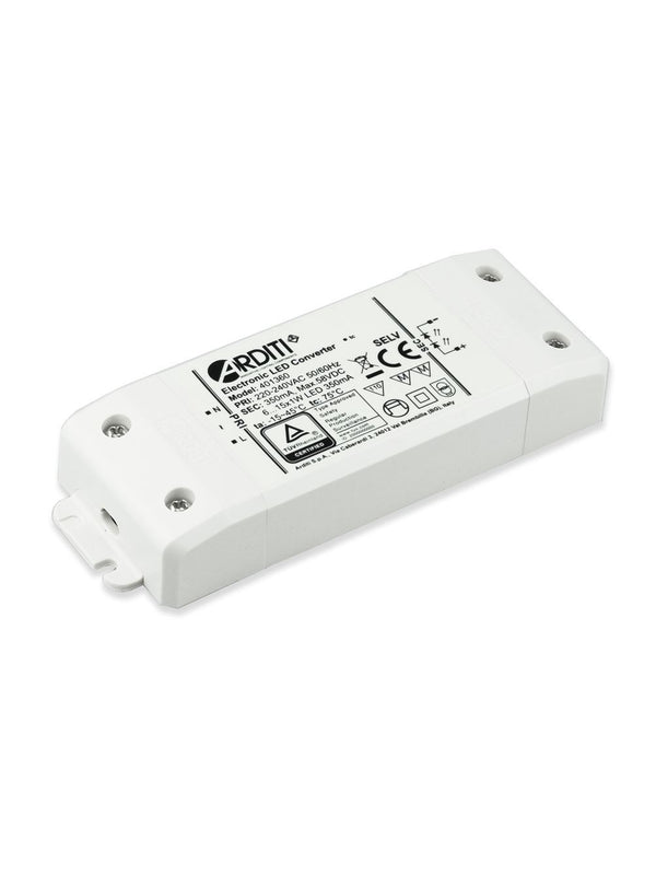 Arditi Constant Current, 15W Non Dimmable LED Driver