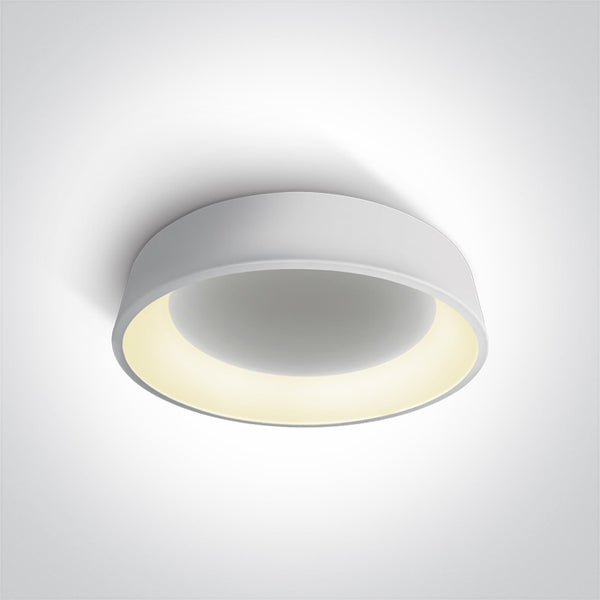 WHITE PLAFO LED 42W WW IP20 230V