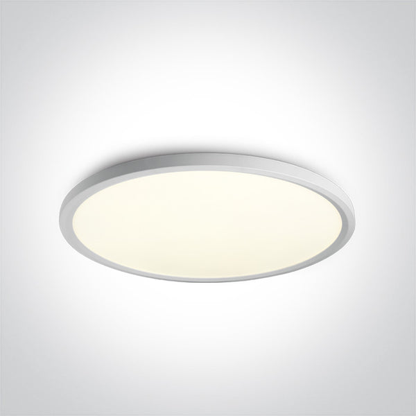 WHITE LED PLAFO 60W CW IP20 230V