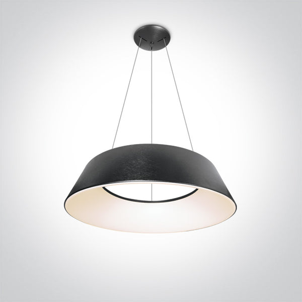 BRUSHED ANTHRACITE LED PENDANT 80W WW IP20 230V