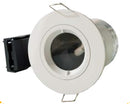 Twist & Lock Fixed GU10 Fire Rated Downlight IP65, Matt White
