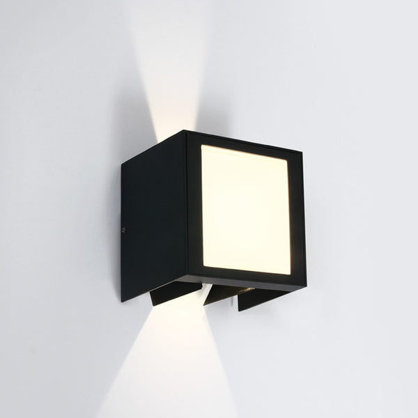 WALL LIGHT, ANTHRACITE LED 11W WW IP54 230V