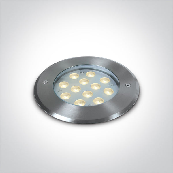 12X1W LED CW SS316 IP68 RECESSED UNDERWATER 24V